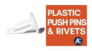 Plastic Push Pins and Rivets by ARaymond Tinnerman