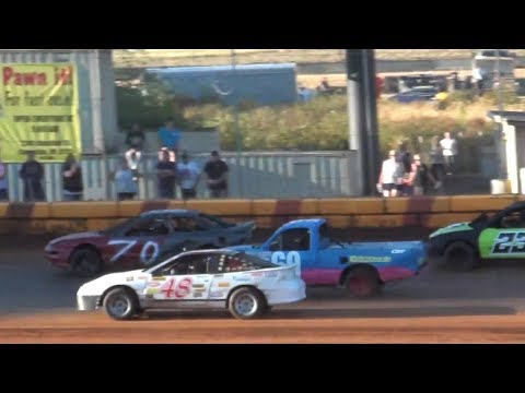 4 Bee Heats-Dash @ Sunset Speedway 2017