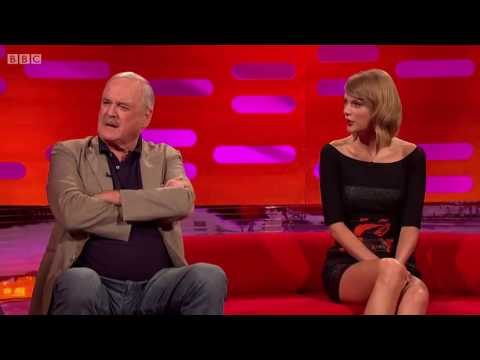 John Cleese tests Taylor Swift on political incorrectness.