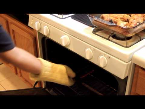 BAKING CHICKEN LEGS in the OVEN