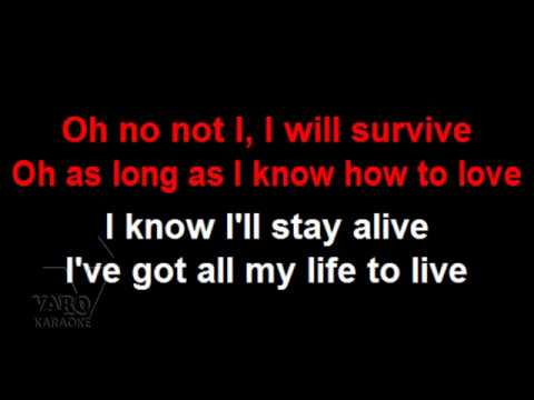 MIDI Karaoke - I Will Survive - Gloria Gaynor