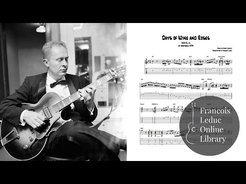 joe pass the days of wine and roses pdf