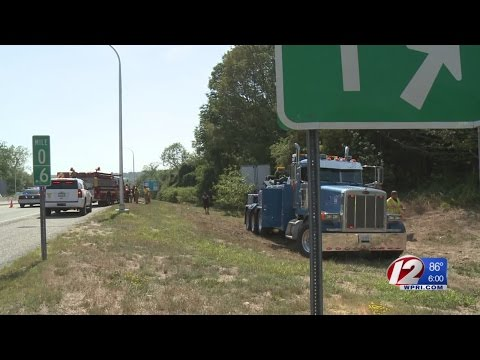 Truck driver killed in I-95 South crash; Traffic snarled in Hopkinton