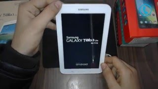 Samsung Galaxy Tab 3 Lite SM T113 Hard Reset