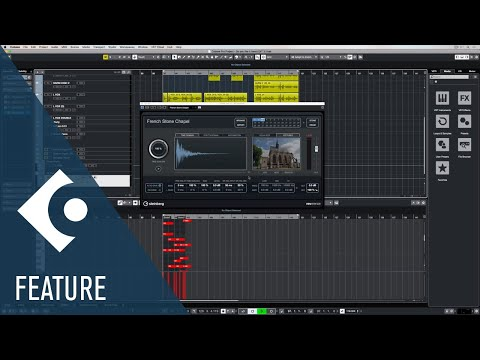REVerence | Effects and Plug-ins Included in Cubase