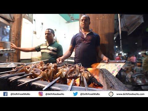 JAFFRABAD Street Food Tour - BHEEM ka Doodh + NAWAB ke Kebab + (Butter & Chicken)
