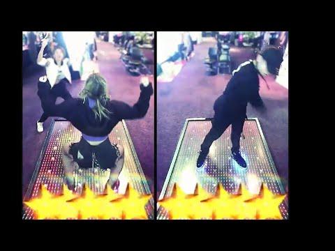 はしゃぎまくる「DANCERUSH STARDOM ANTHEM / Kors K Feat.福島蘭世」with.史璃 #DANCERUSH_STARDOM