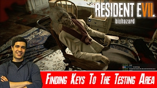 Finding Keys To The Testing Area - Resident Evil 7 [Normal] [#08]