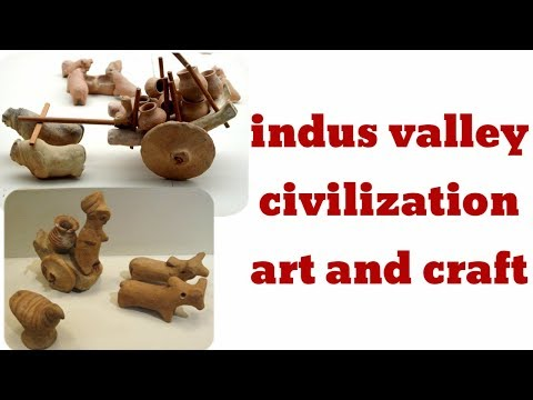 indus valley civilization art and craft in indian history