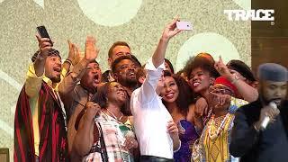 When president Emmanuel Macron meets Nollywood actors