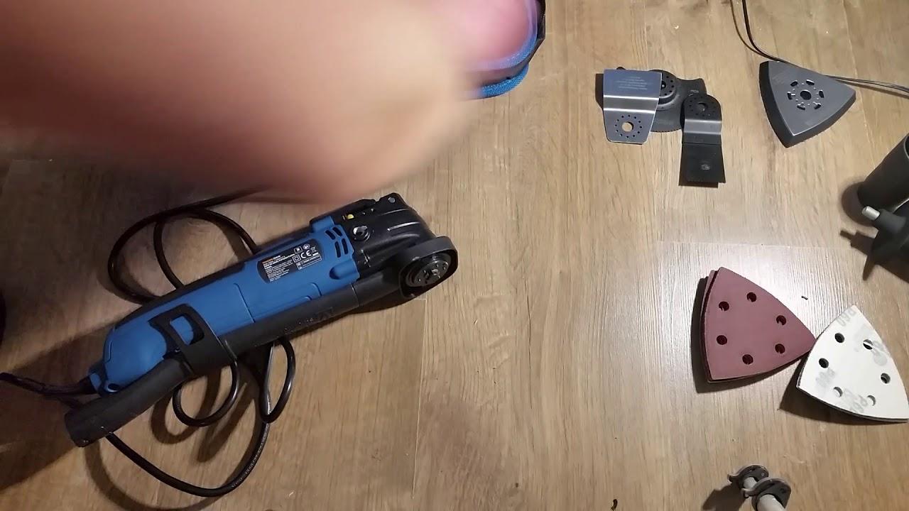 narzędzie wielofunkcyjne workzone z aldi - youtube
