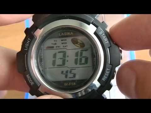 Как настроить часы bei ta