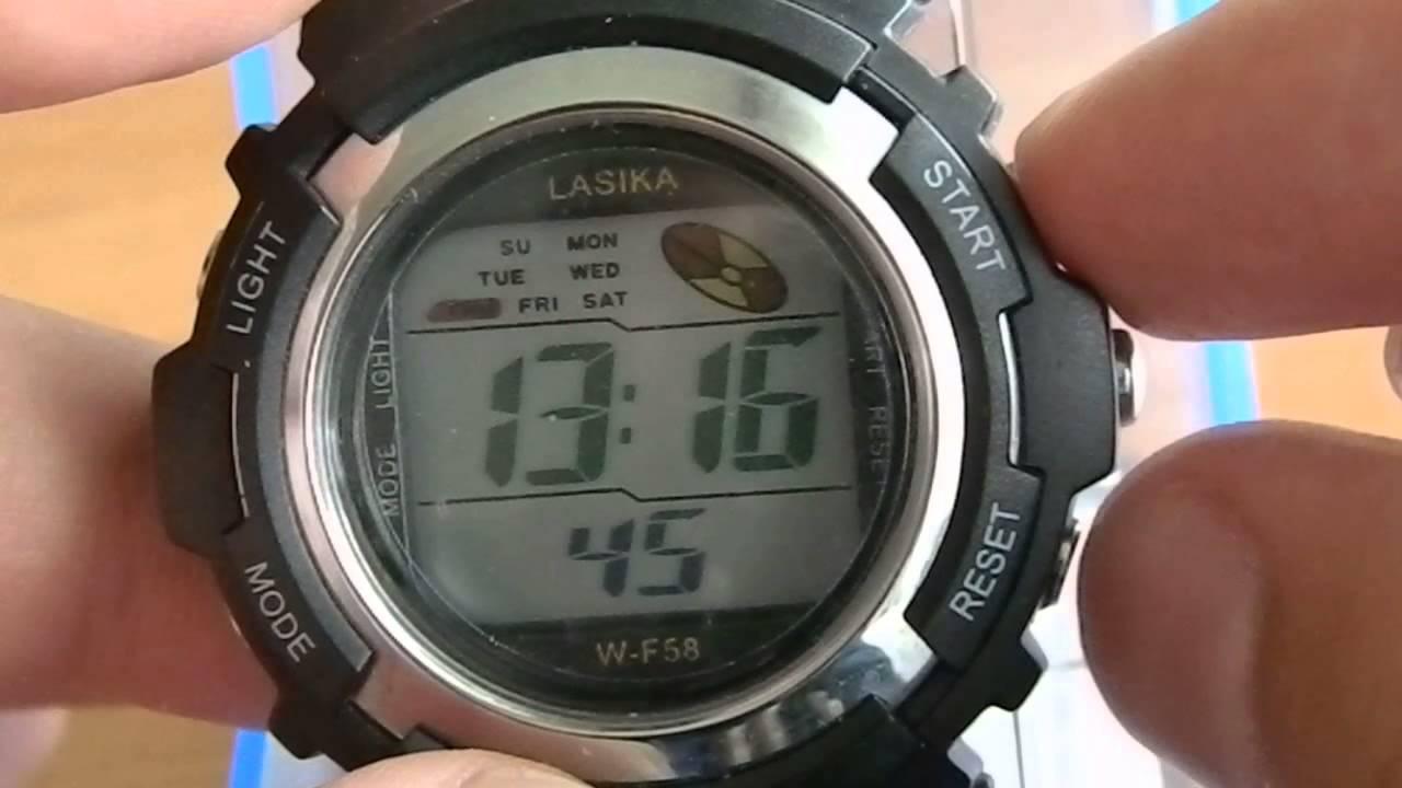 Наручные часы sinte инструкция