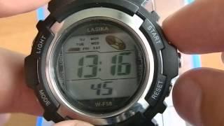 lasika годинник інструкція