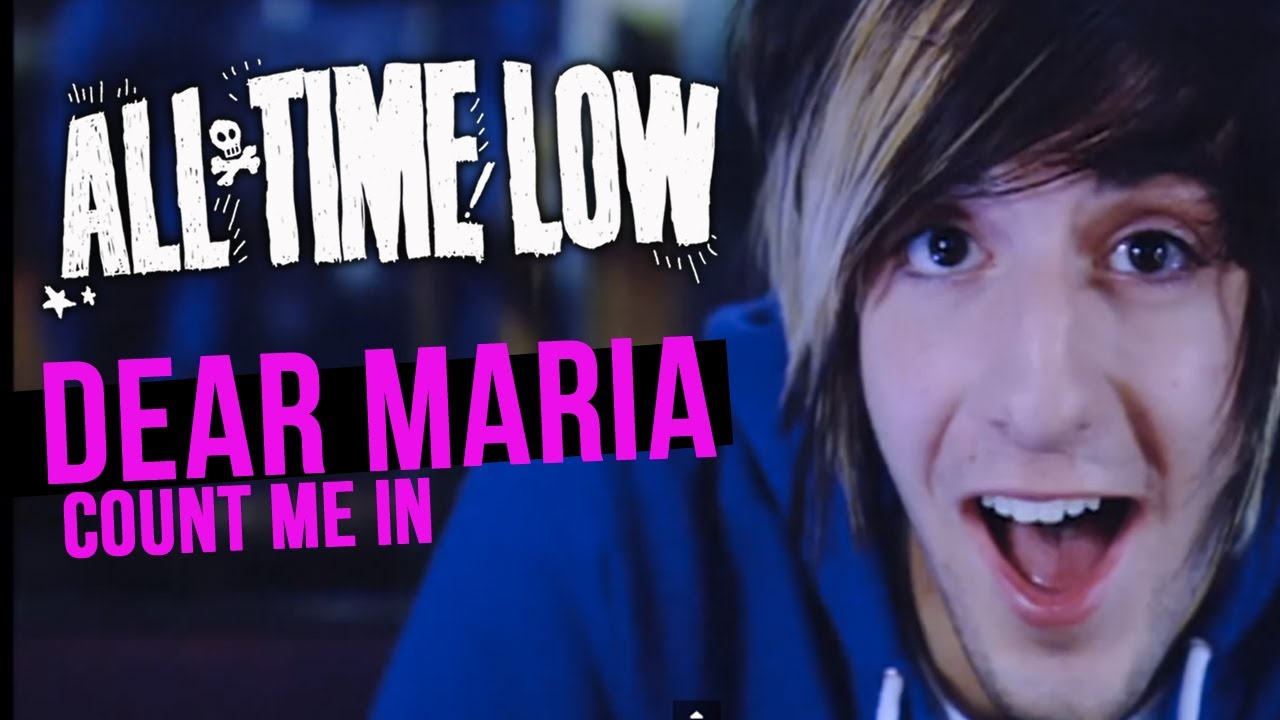 All Time Low – Dear Maria, Count Me In Lyrics
