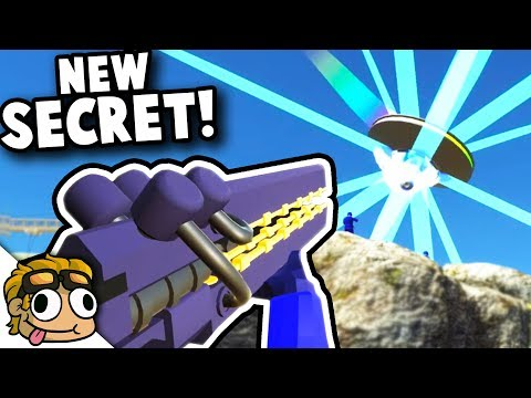 DESTROY THE UFO with NEW SECRET WEAPON! | Ravenfield New Update Secret Gameplay