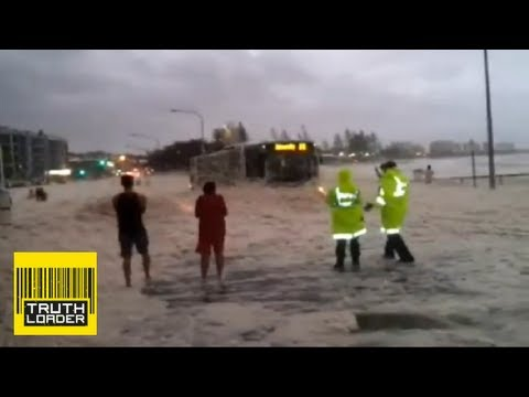 Crazy foam engulfs Sunshine Coast in Queensland, Australia -- Truthloader