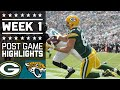 Packers vs. Jaguars (Week 1) | Post Game Highlights | NFL