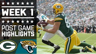 Packers vs. Jaguars | NFL Week 1 Game Highlights