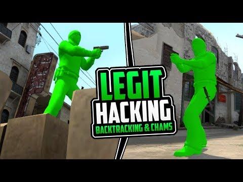 CS:GO | Legit Hacking - Backtracking & Chams Only! // 40+ Kills In-Game! #BacktrackingOP