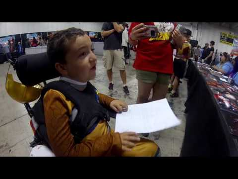 Colorado Springs Comic Con Power Ranger interviews by Power Ranger Anthony
