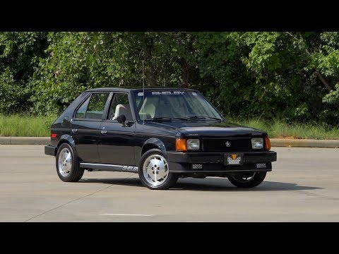 1986 Dodge Shelby GLHS Turbo FOR SALE / 136528