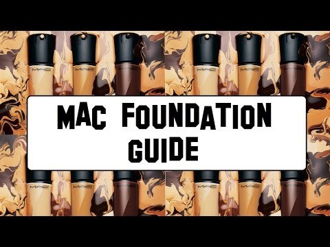M.A.C Foundation Guide