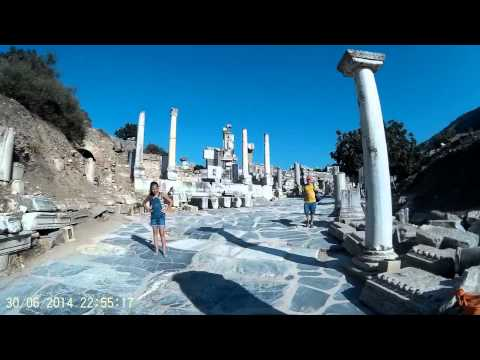 Ephesus walking around (2014)