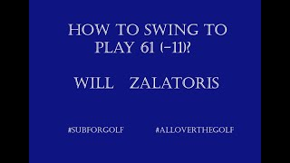 Will Zalatoris Slow Motion Golf Swing. #golf #golfswing #bestgolf #subforgolf #alloverthegolf