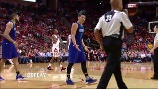 Jeremy Lin's foul ????
