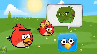 Angry Birds Animated in Red Ball 4 Ep. 1 + Final Boss (ORIGINAL 2018)