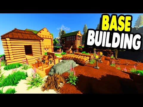 CONSTRUCTION BEGINS Base Build & Farm Expansion & NEW STUFF | ECO GAMEPLAY
