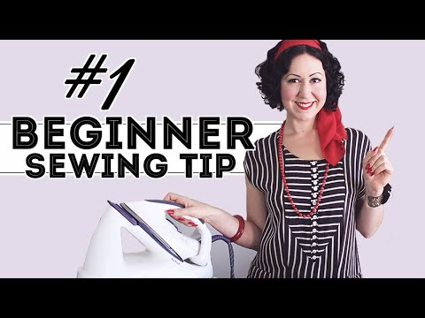 #1 WAY TO MAKE YOUR SEWING LOOK MORE PROFESSIONAL... plus (spoiler!) 3 tips on pressing and ironing!