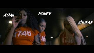 Honey Oso x Cuban Doll x Asian Doll - Gangsta (Official Music Video)