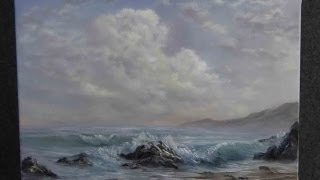 Paint with Kevin Hill - A Gentle Seascape