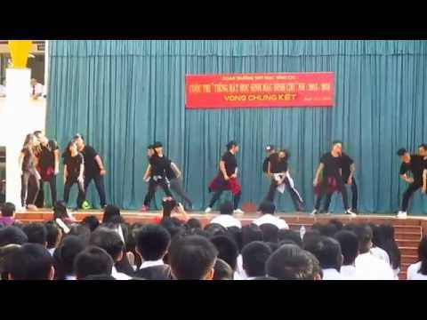 (Nhảy hiện đại) CHUNG KẾT Tiếng hát Học Sinh THPT MĐC 2015 - 11A14