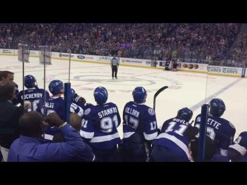 Tampa Bay Lightning - Brayden Point Scores, Boltz Win!!!