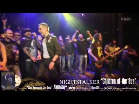 "NIGHTSTALKER ""Children of the Sun"" METAL HAMMER DVD March issue (No.363)"