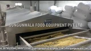 Automatic Namkeen & Dal Frying Machine With Wooden Boiler  GUNGUNWALA
