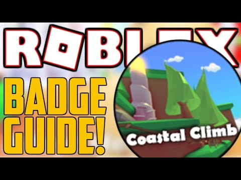 HOW TO GET THE 'COASTAL CLIMB' BADGE IN ADOPT ME! | ROBLOX Badges *SECRET*