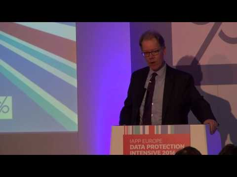 IAPP Europe Data Protection Intensive 2016 || Christopher Graham Keynote
