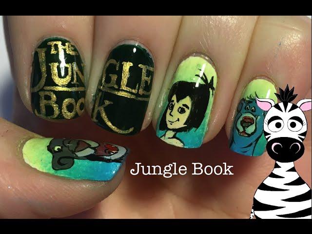 Manicure Inspiration 10 Amazing Bookish Nail Art Tutorials