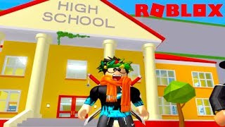Building My Own High School | ROBLOX HIGH SCHOOL TYCOON! DAD VS SON