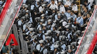 Protests in Hong Kong ahead of extradition Bill debate