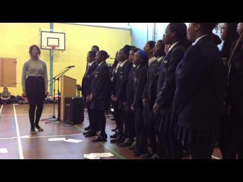 St.Edwards School Romford Gospel Choir