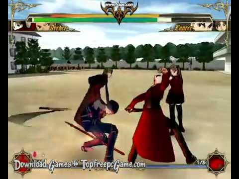 Fate stay night gameplay trailer youtube.