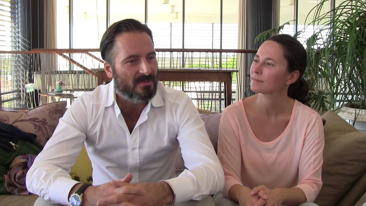 Interview with the Kundalini yoga experts Andrea Schipper and Andre ...