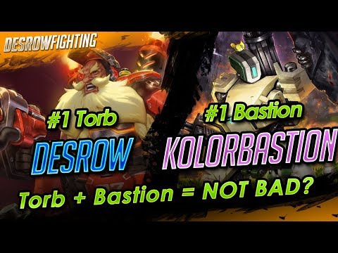 Torbjorn + Bastion is good ? Attack Torb Horizon Lunar colony