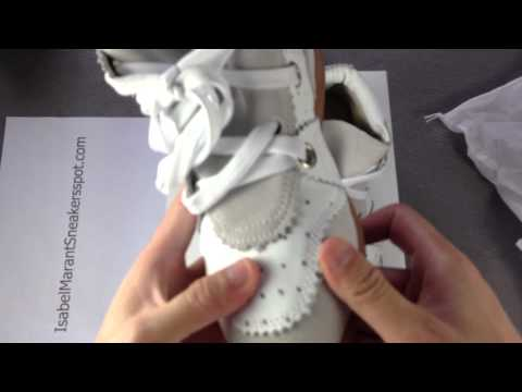Isabel Marant Betty Low top White Wedge Sneakers