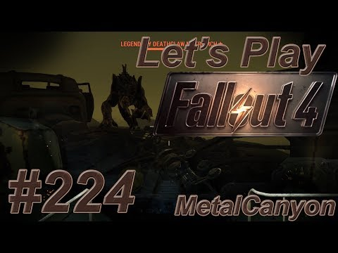Let's Play Fallout 4 (part 224 - The Glowing Sea [blind])